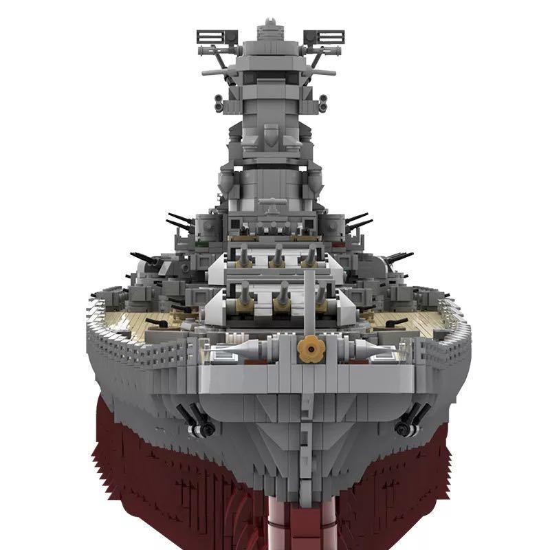 LEGO互換 戦艦大和 帝国海軍_画像5