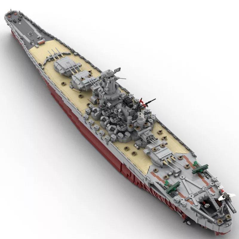 LEGO互換 戦艦大和 帝国海軍_画像3