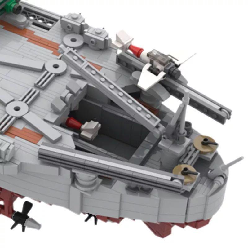 LEGO互換 戦艦大和 帝国海軍_画像4
