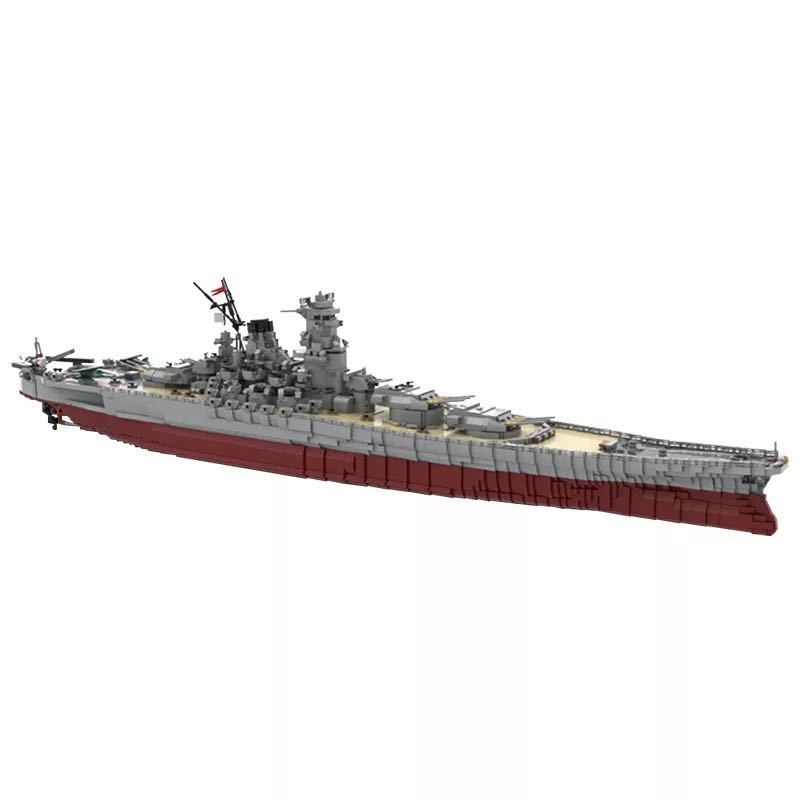 LEGO互換 戦艦大和 帝国海軍_画像1