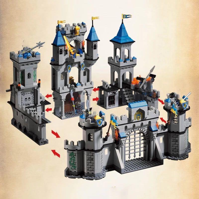 レゴ互換 ライオン城_画像4