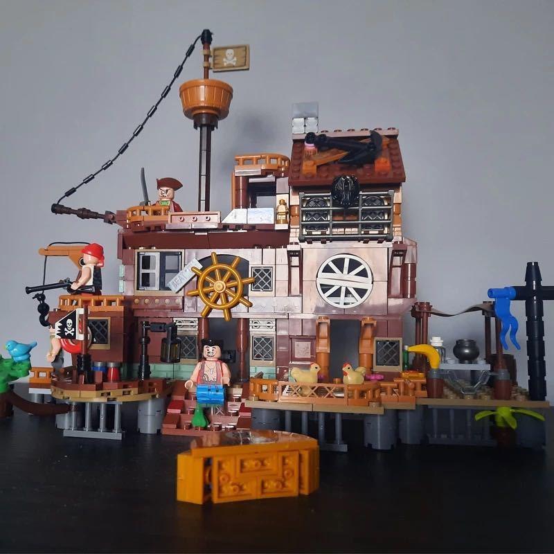 レゴ互換 海賊桟橋_画像2