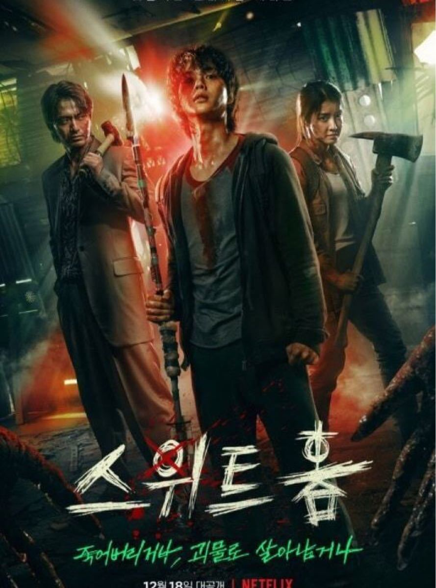 韓国ドラマ スイートホーム Blu-ray レーベル印刷なし