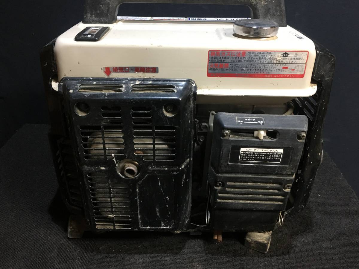 ジャンク品・ジャンク扱い HAG111MH EXEN 48Vバイブレータ専用 発電機_画像5