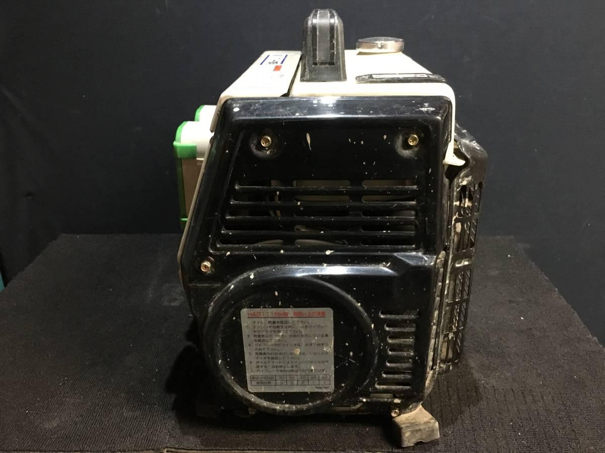 ジャンク品・ジャンク扱い HAG111MH EXEN 48Vバイブレータ専用 発電機_画像4