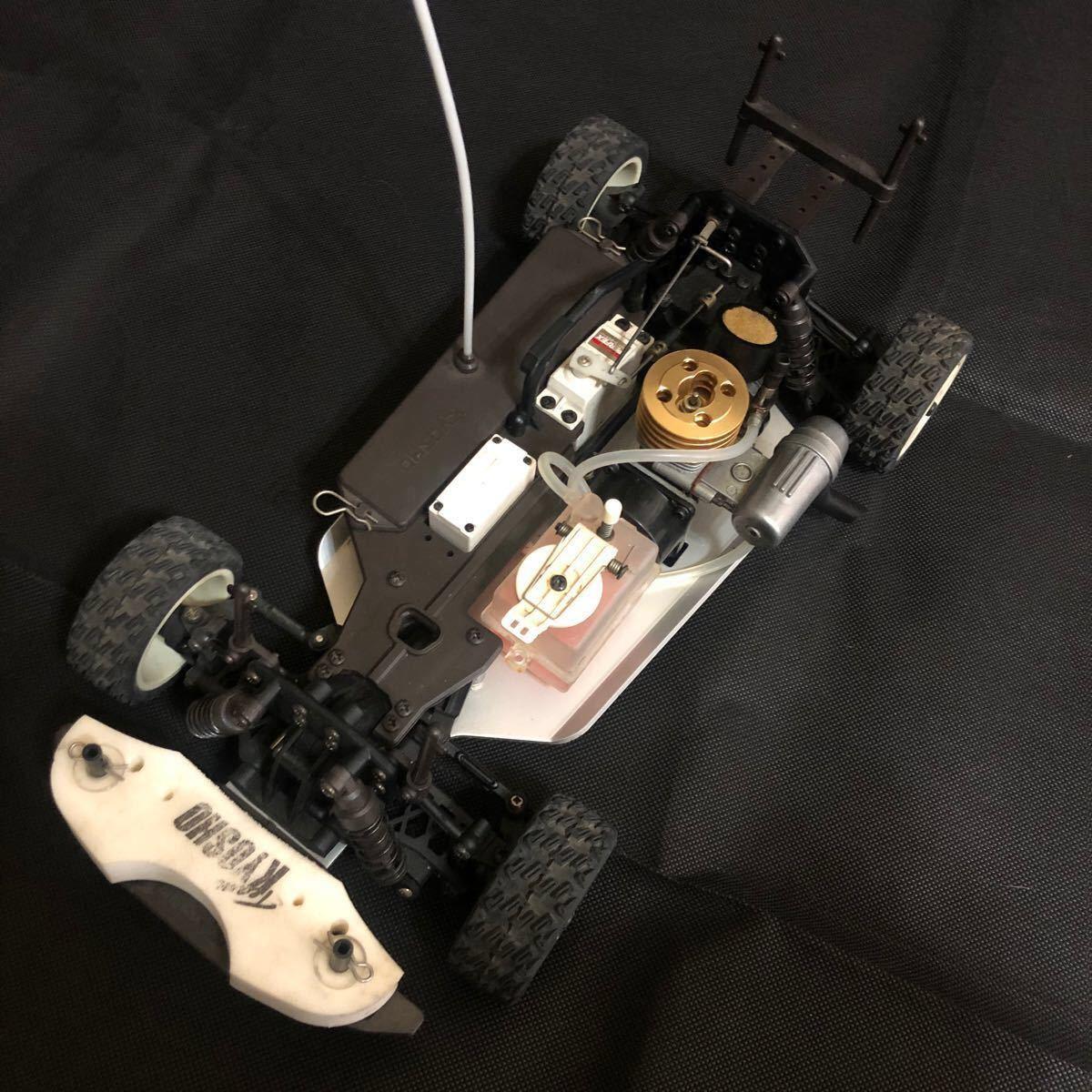 京商  KYOSHO  エンジンカー ラジコン プロポ、ボディセット ジャンク