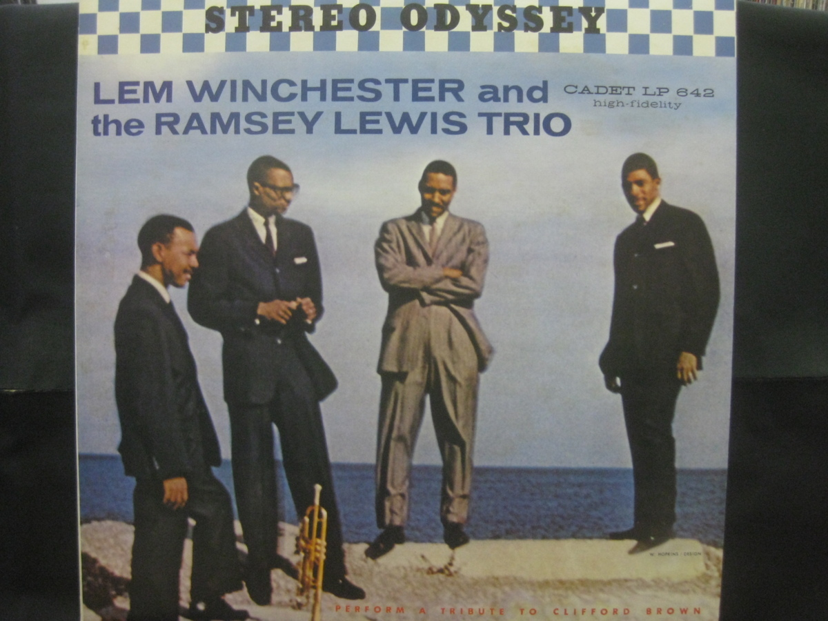 Lem Winchester And The Ramsey Lewis Trio / Perform A Tribute To Clifford Brown ◆LP3575NO OBRP◆LP_画像1