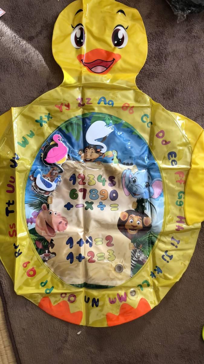 Water Mat Baby Water Play Mat 知的開発ゲーム楽しいカラフルなおもちゃ、男の子&女の子の成長脳の赤ちゃんのおもちゃ_画像3