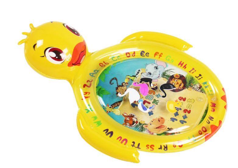 Water Mat Baby Water Play Mat 知的開発ゲーム楽しいカラフルなおもちゃ、男の子&女の子の成長脳の赤ちゃんのおもちゃ_画像1