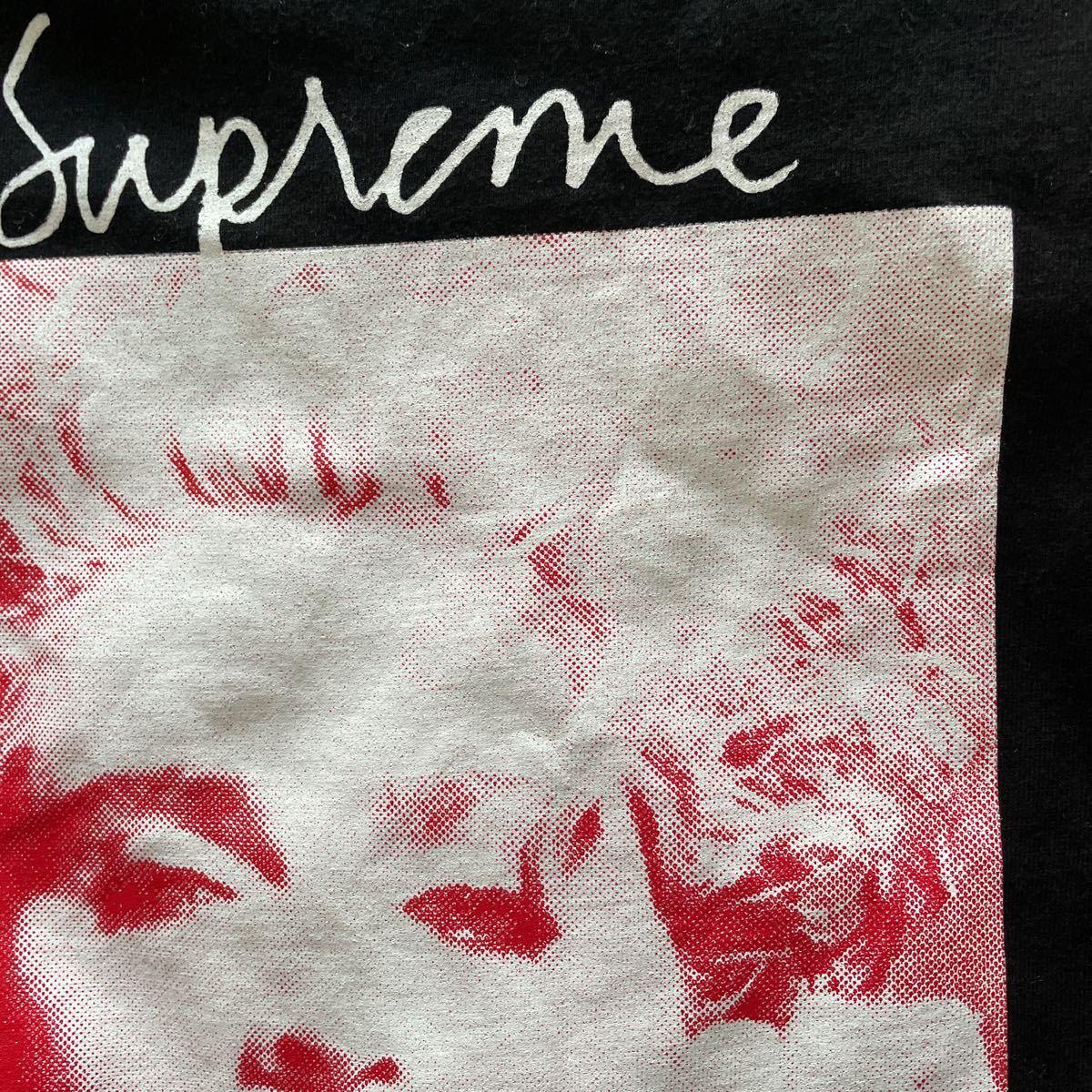 L Supreme Madonna Tee 18FW Large Black シュプリーム マドンナ Tシャツ 半袖 ブラック 黒 18AW_画像6