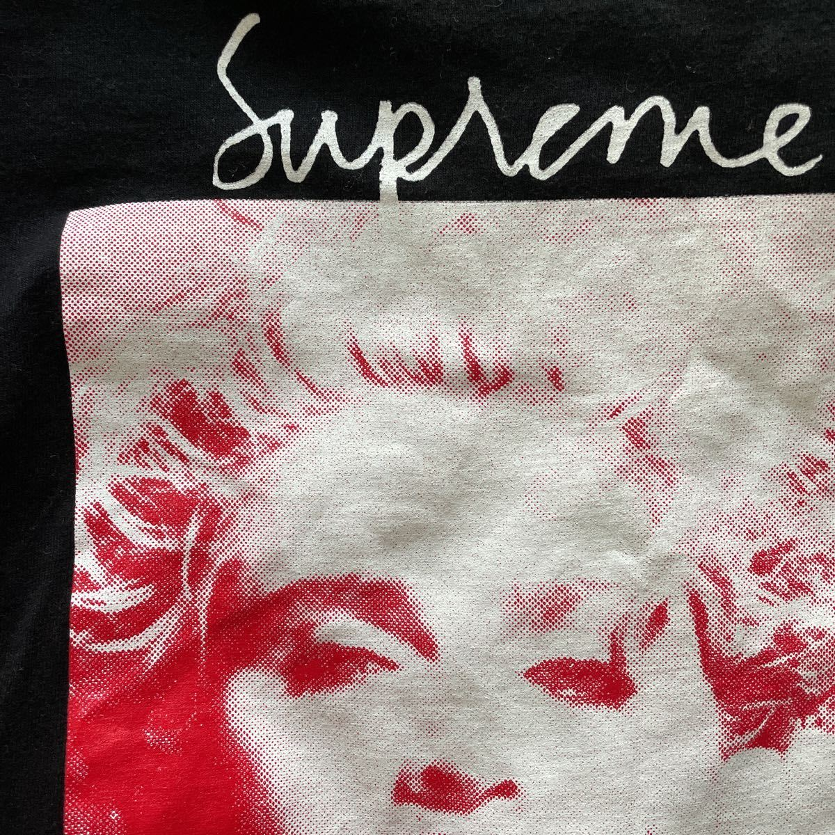 L Supreme Madonna Tee 18FW Large Black シュプリーム マドンナ Tシャツ 半袖 ブラック 黒 18AW_画像5