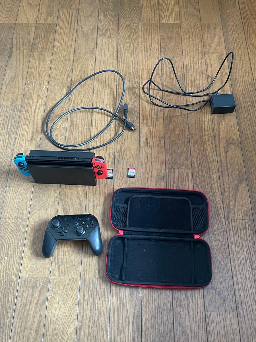 Nintendo Switch本体(箱なし)セット
