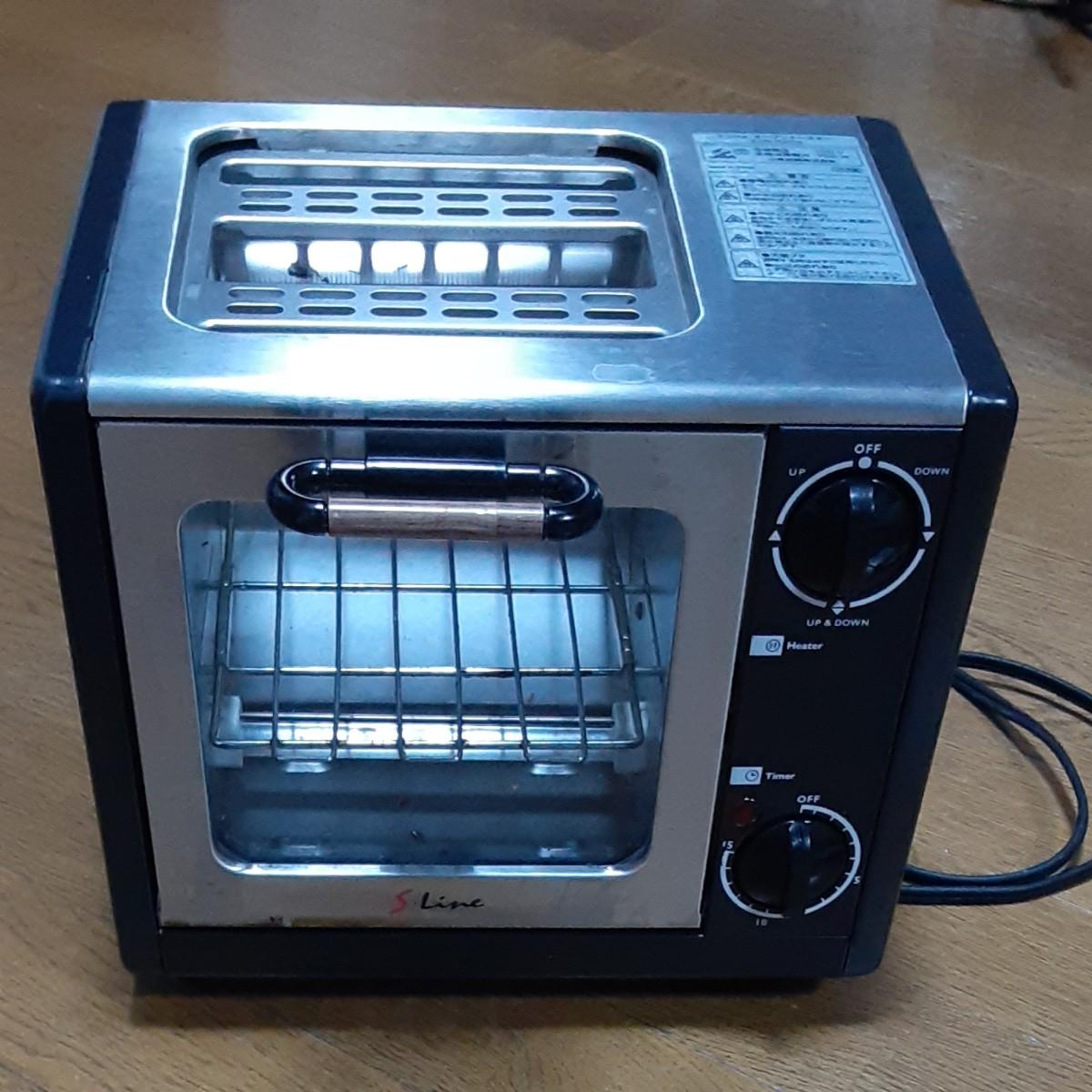 オーブントースター 動作確認済み。