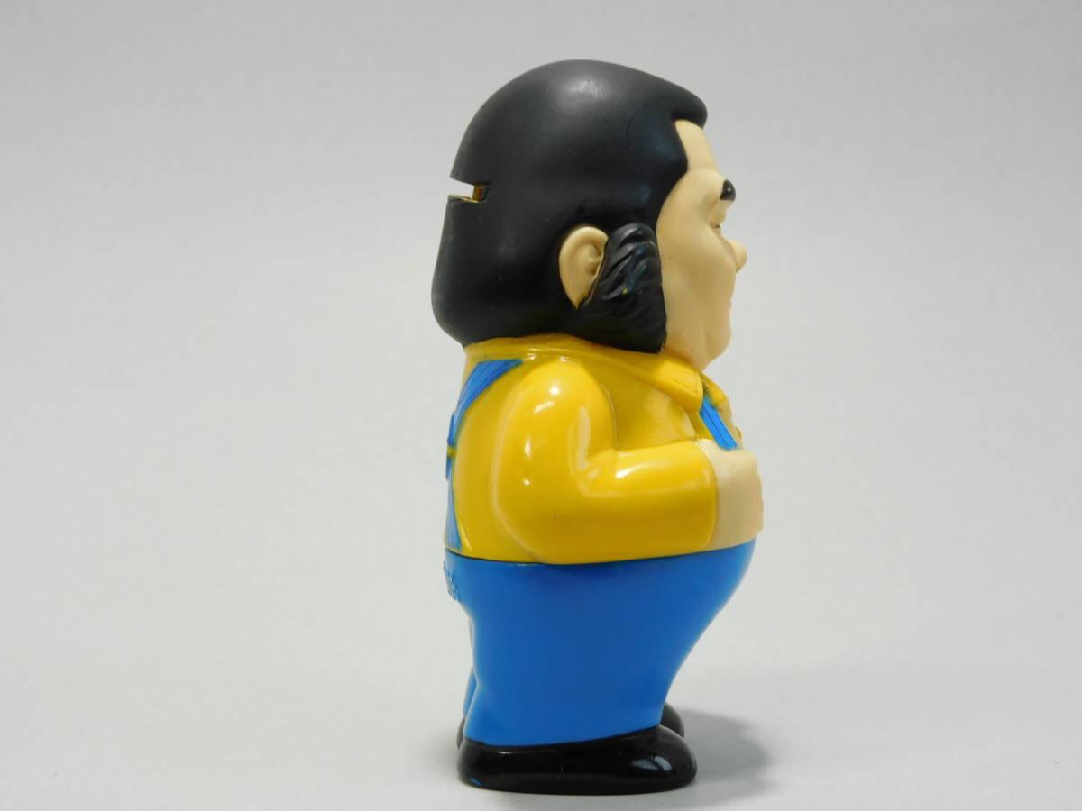 当時物 中央信託銀行 高見山 ソフビ 貯金箱 大相撲 力士 人形 昭和 レトロ_画像4