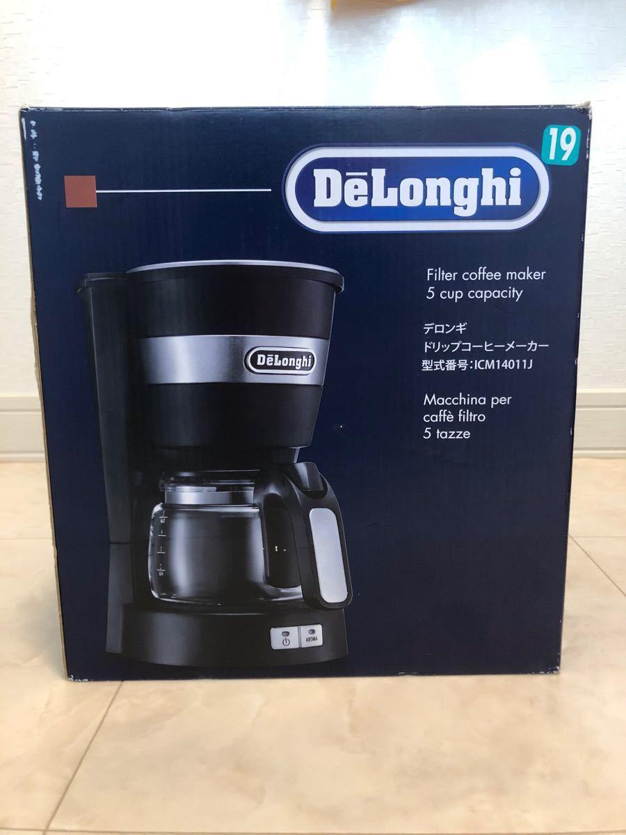 デロンギ ドリップコーヒーメーカー ICM14011J コーヒーメーカー