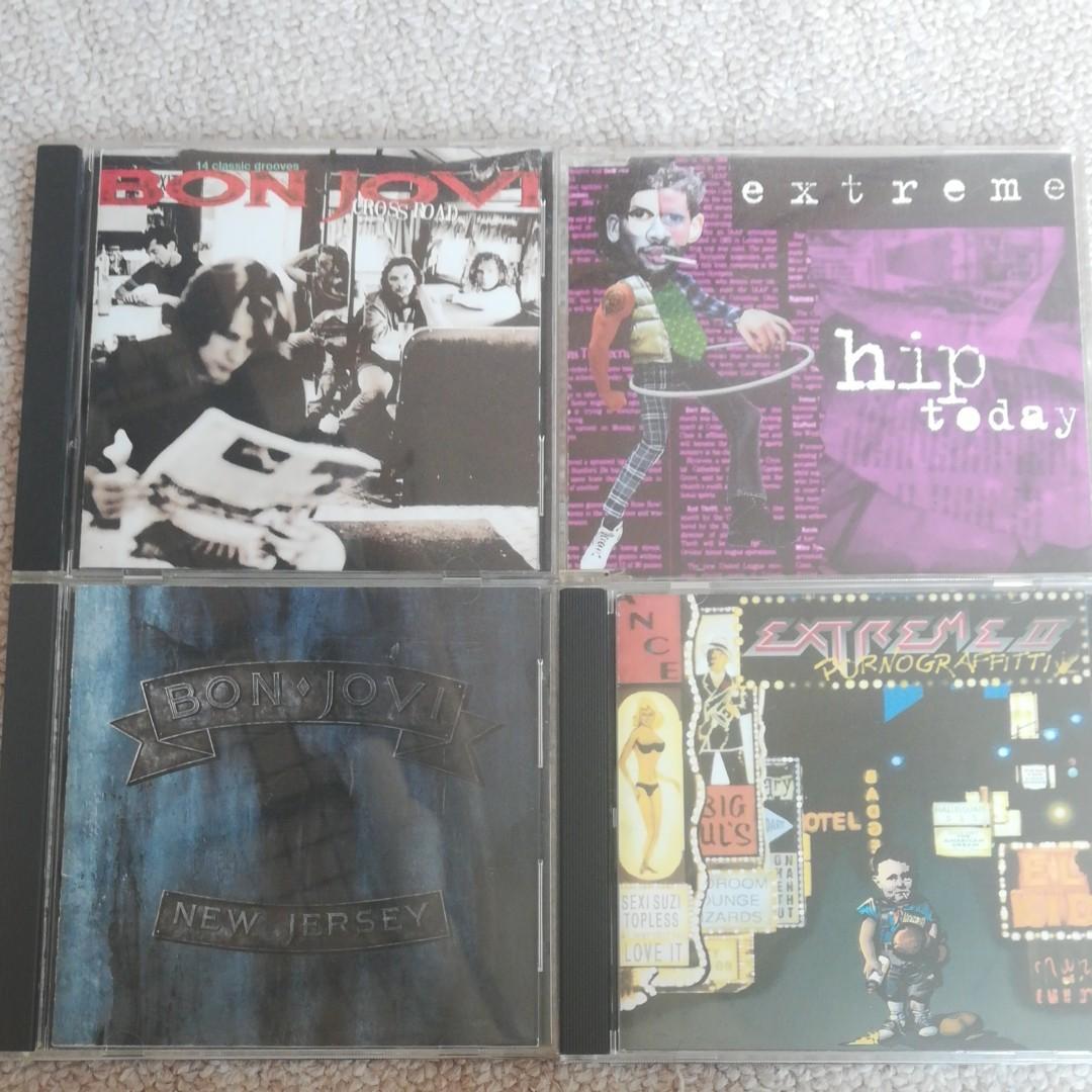 ボン・ジョヴィ エクストリーム CD 計4枚