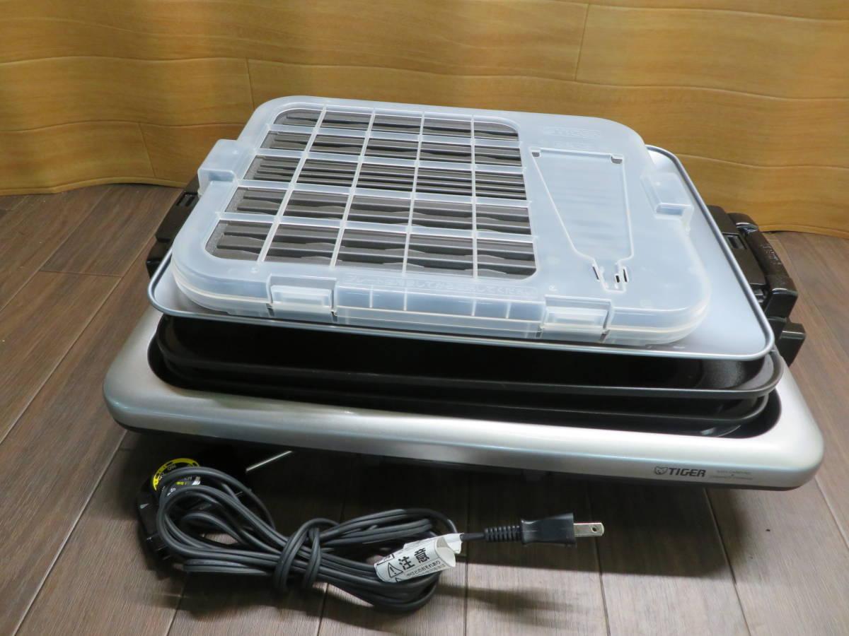 ☆TIGER CRV-G300(SN) 17年製 ホットプレート 焼き肉プレート 動作OK_画像1