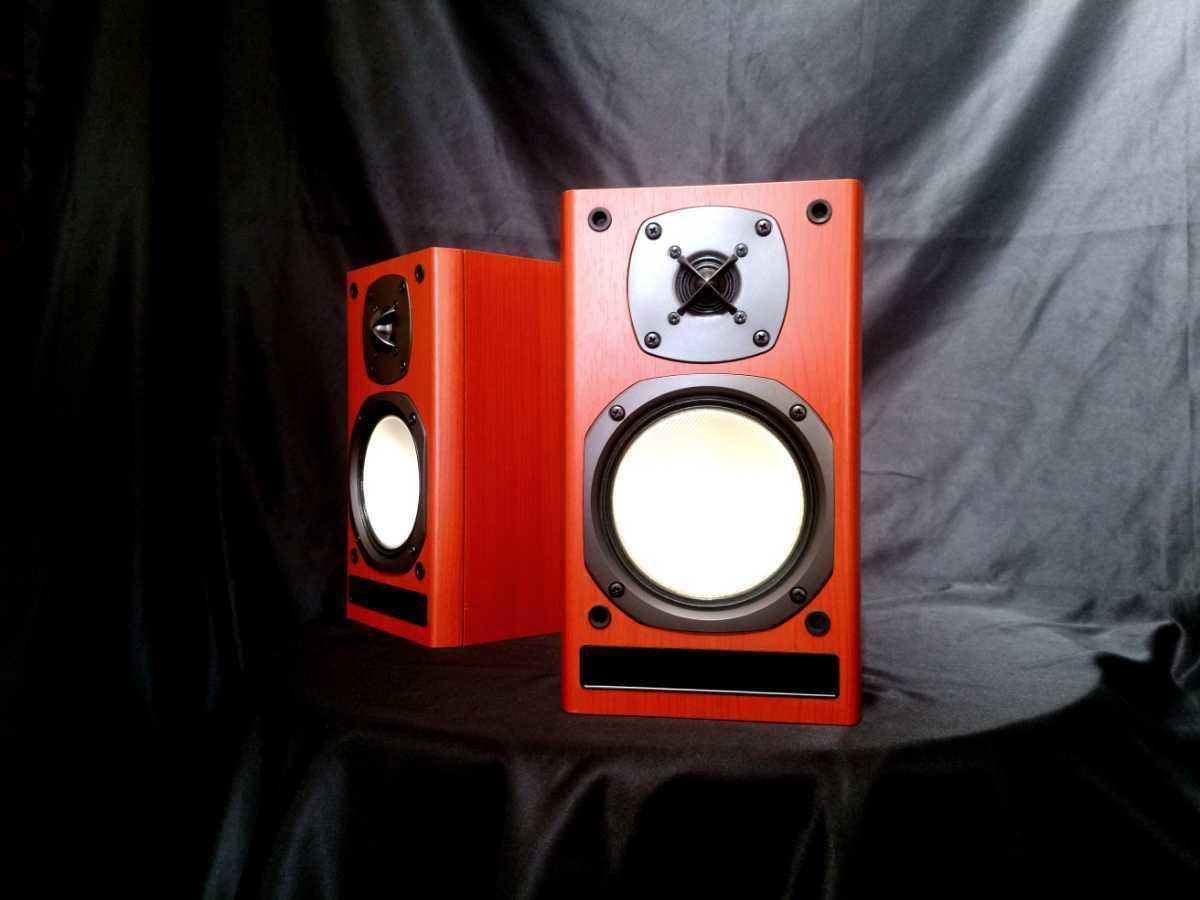 ONKYO D-N7NX オンキョー高音質2wayスピーカー◆除菌クリーニング品◆最高級艶出しWAX処理【音出し良好】_画像1