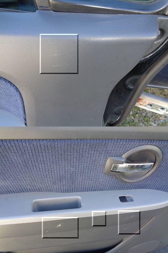 ★スズキ ワゴンR DBA-MH22S 左フロントドア 電動格納式ドアミラー付き 【黒/ZJ3】★_画像9