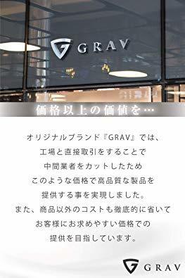 ブラック/オレンジ 【GRAV】 マネークリップ メンズ カードケース 財布 二つ折り 札入れ (ICカードポケット 隠しポケッ_画像8