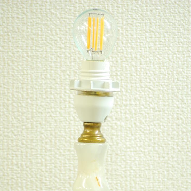 #2733bスタンド照明本物アンティーク照明1950年フランス原産テーブルランプ1灯本体オニキスPSE表示品PL保険付_画像6