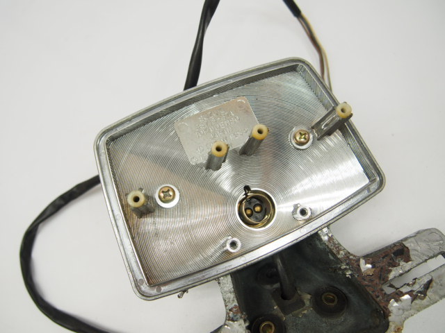 GSX250L純正テールランプ_割れなし交換/レストアベースに/37A刻印アメザリ_画像2