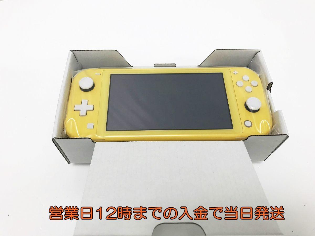 新品 Nintendo Switch Lite イエロー 未使用品 ゲーム機本体 1A0771-1296e/F4_画像5