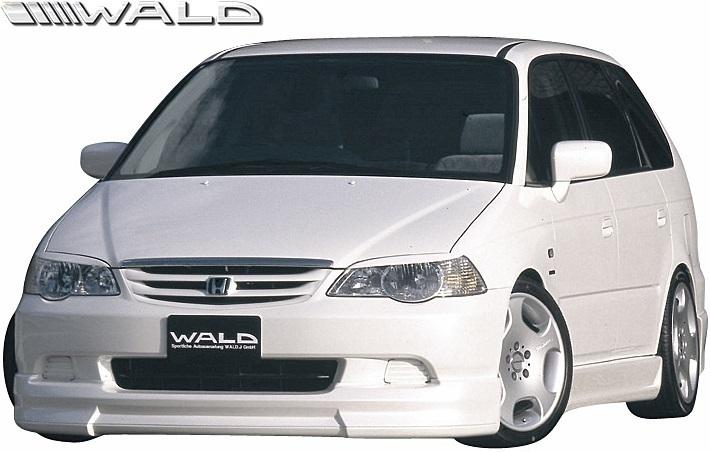 【M's】HONDA 前期 RA6/RA7 オデッセイ (H11.12-H13.11) WALD Sports Line フロントスポイラー//FRP製 ヴァルド バルド ODYSSEY エアロ_画像1