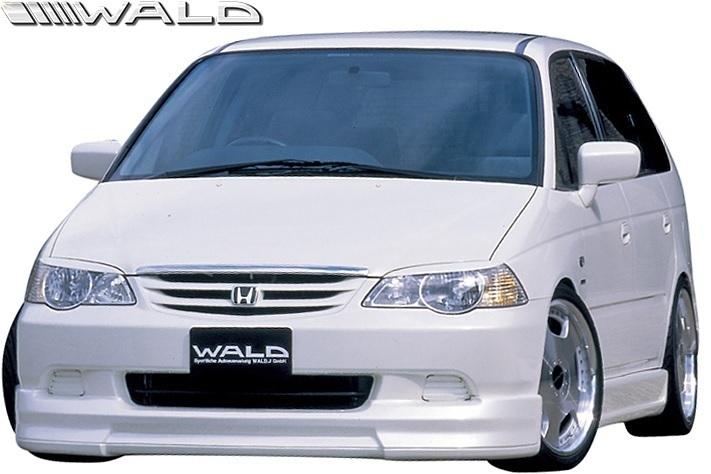 【M's】HONDA 前期 RA6/RA7 オデッセイ (H11.12-H13.11) WALD Sports Line フロントスポイラー//FRP製 ヴァルド バルド ODYSSEY エアロ_画像3
