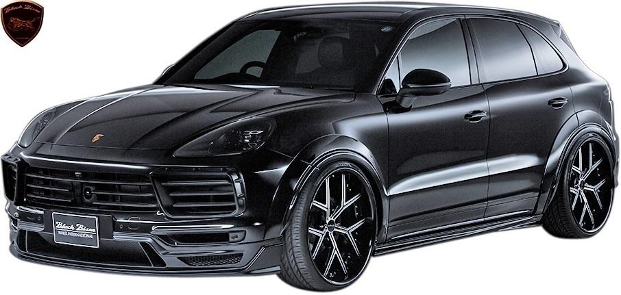 【M's】Porsche カイエン 9YA (2018y-) WALD Black Bison リアスカート//FRP製 ヴァルド バルド エアロ リヤスカート ポルシェ CAYENNE_画像5