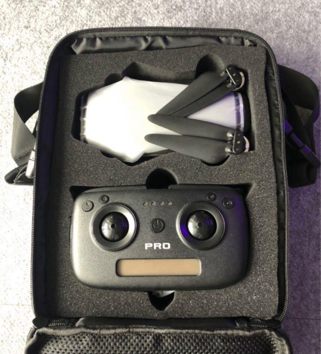 SG906 PRO 4Kカメラ、バッテリー×2 専用バッグ付
