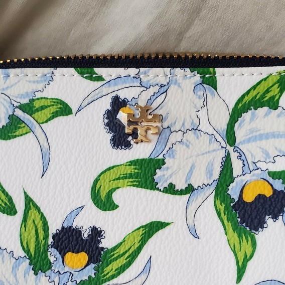 新品 TORY BURCH  トリーバーチ コスメ小物入れ 化粧ポーチ 花柄