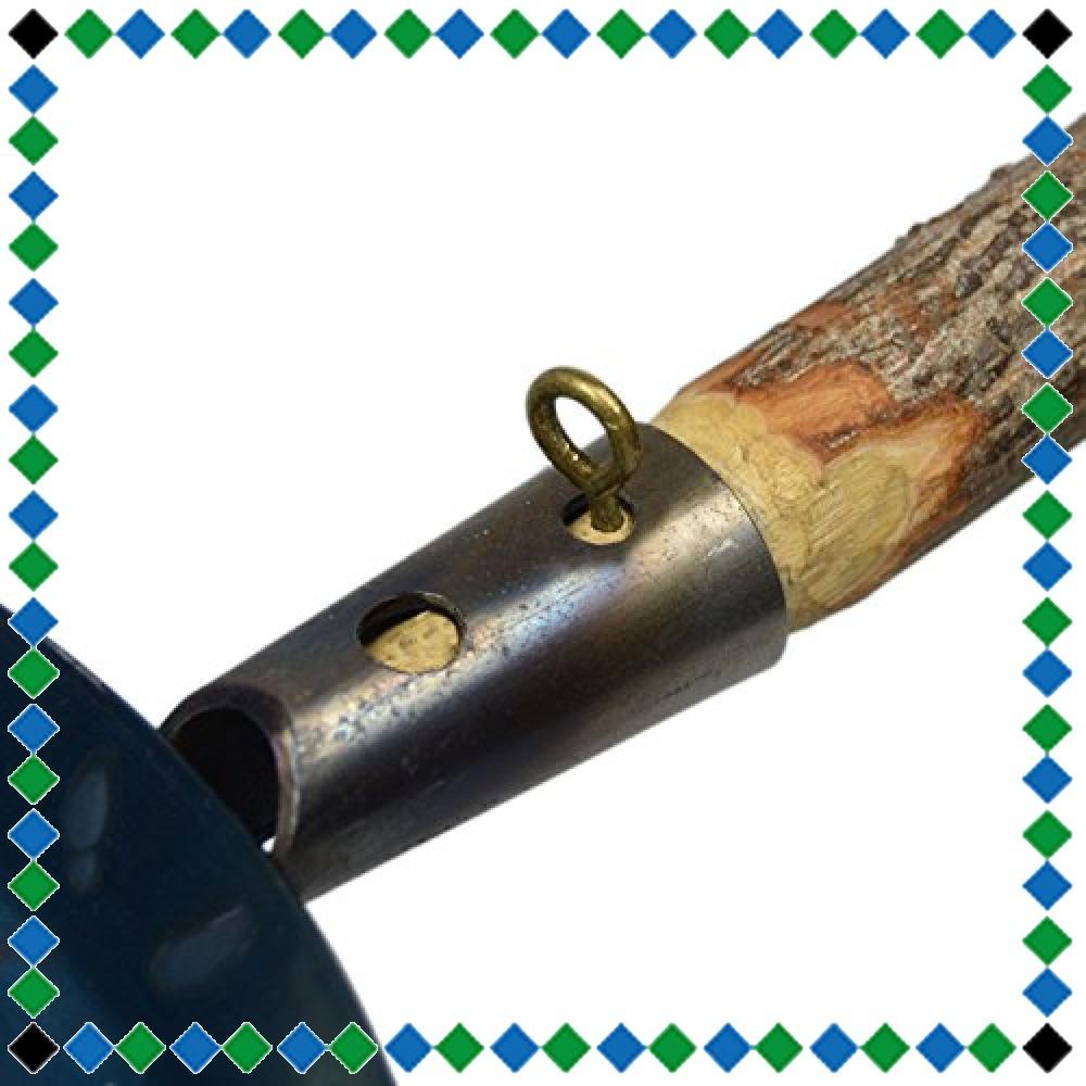 シルバー Bush Craft(ブッシュクラフト) たき火フライパン 10-03-orig-0002_画像2