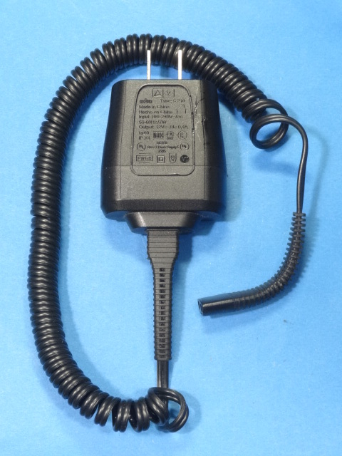 ブラウン シェーバー シリーズ9用 ACアダプター 5210 BRAUN 電気シェーバー用 充電器 ACアダプター 12V 0.4A Series9 シリーズ9 7 5 3 管AK