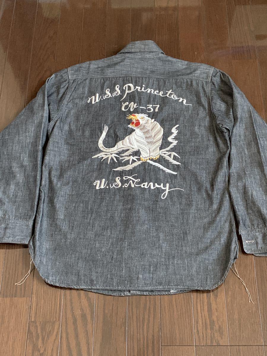 トイズマッコイ TOYS McCOY スーベニアシャツ スカシャツ _画像5