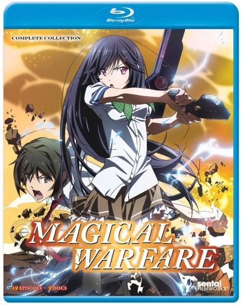 【送料込】魔法戦争 全12話 (北米版 ブルーレイ) Magical Warfare blu-ray BD