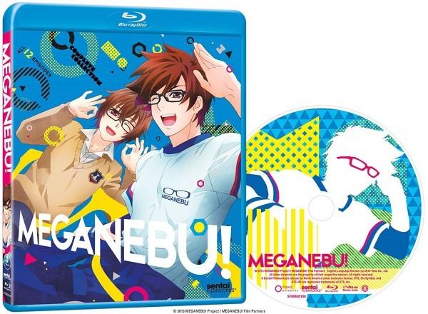 【送料込】メガネブ! 全12話 (北米版 ブルーレイ) Meganebu blu-ray BD