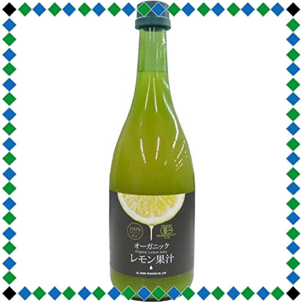 720ml1本 有機レモン果汁 720ml_画像1