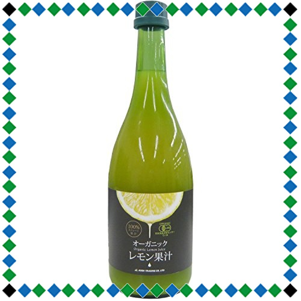 720ml1本 有機レモン果汁 720ml_画像2