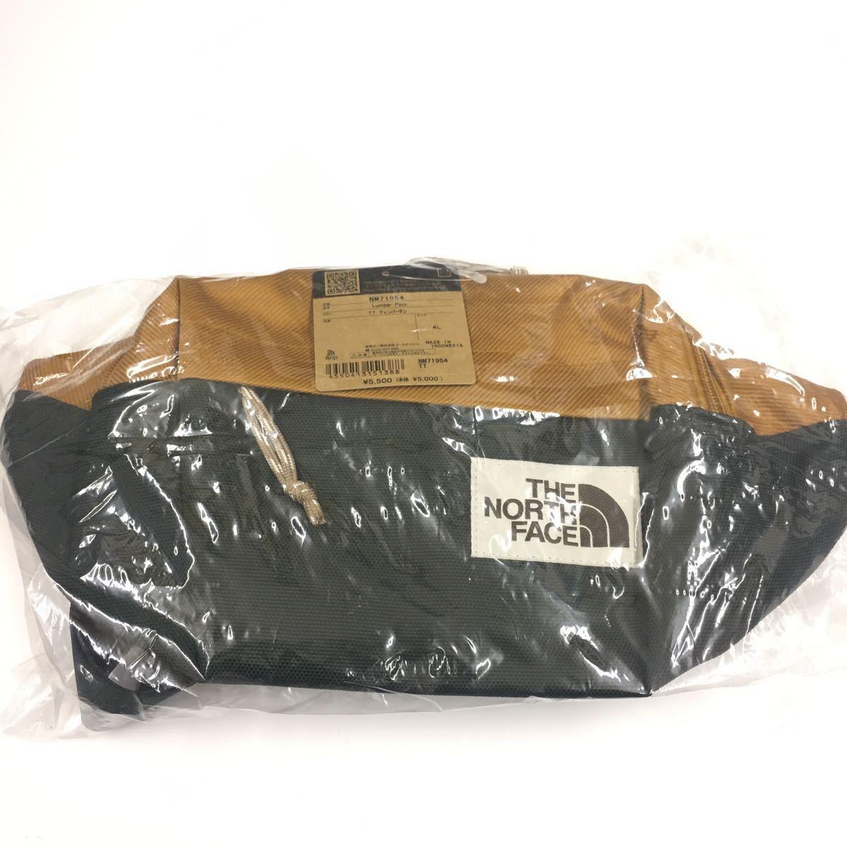 THE NORTH FACE Lumbar Pack TT NM71954 ノースフェイス ランバーパック ティンバータン 新品未使用 国内正規品 ショルダーバッグ