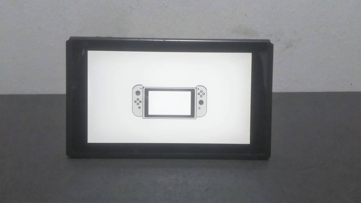 ☆ switch 本体 ☆ ニンテンドースイッチ 本体のみ 動作品 任天堂 Nintendo Switch ジョイコン グリップ 他 欠品 2017年製 3144