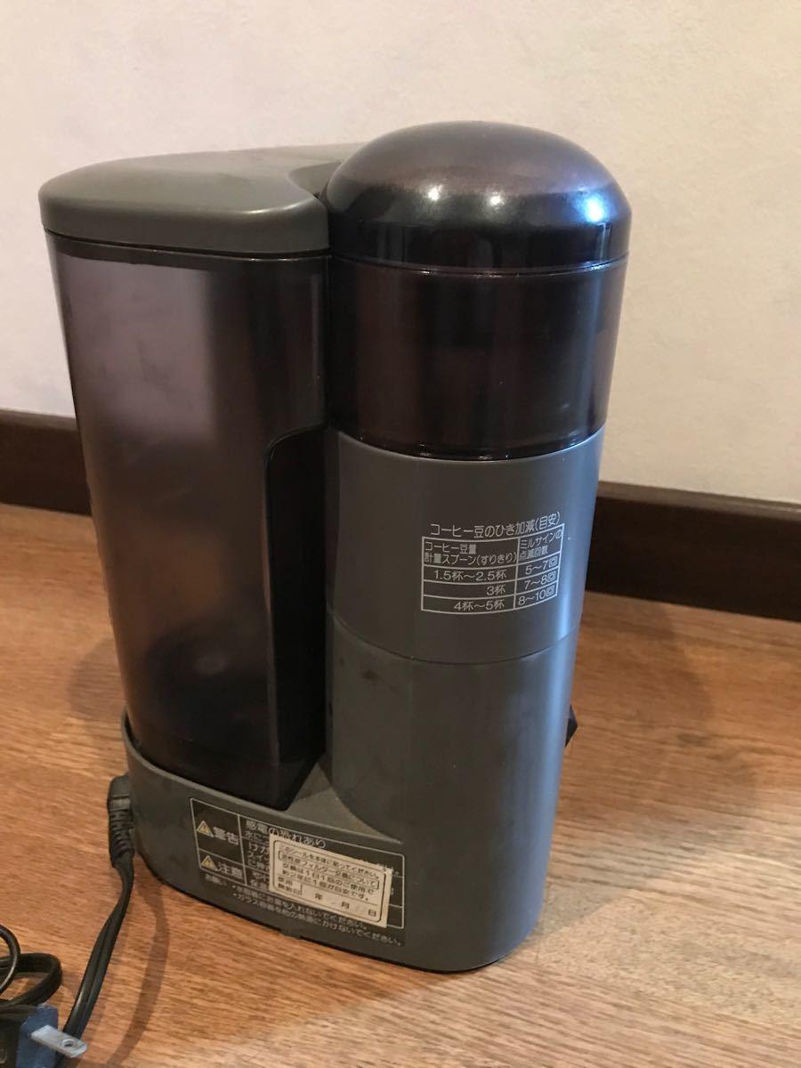コーヒーメーカー ナショナル ミル付き