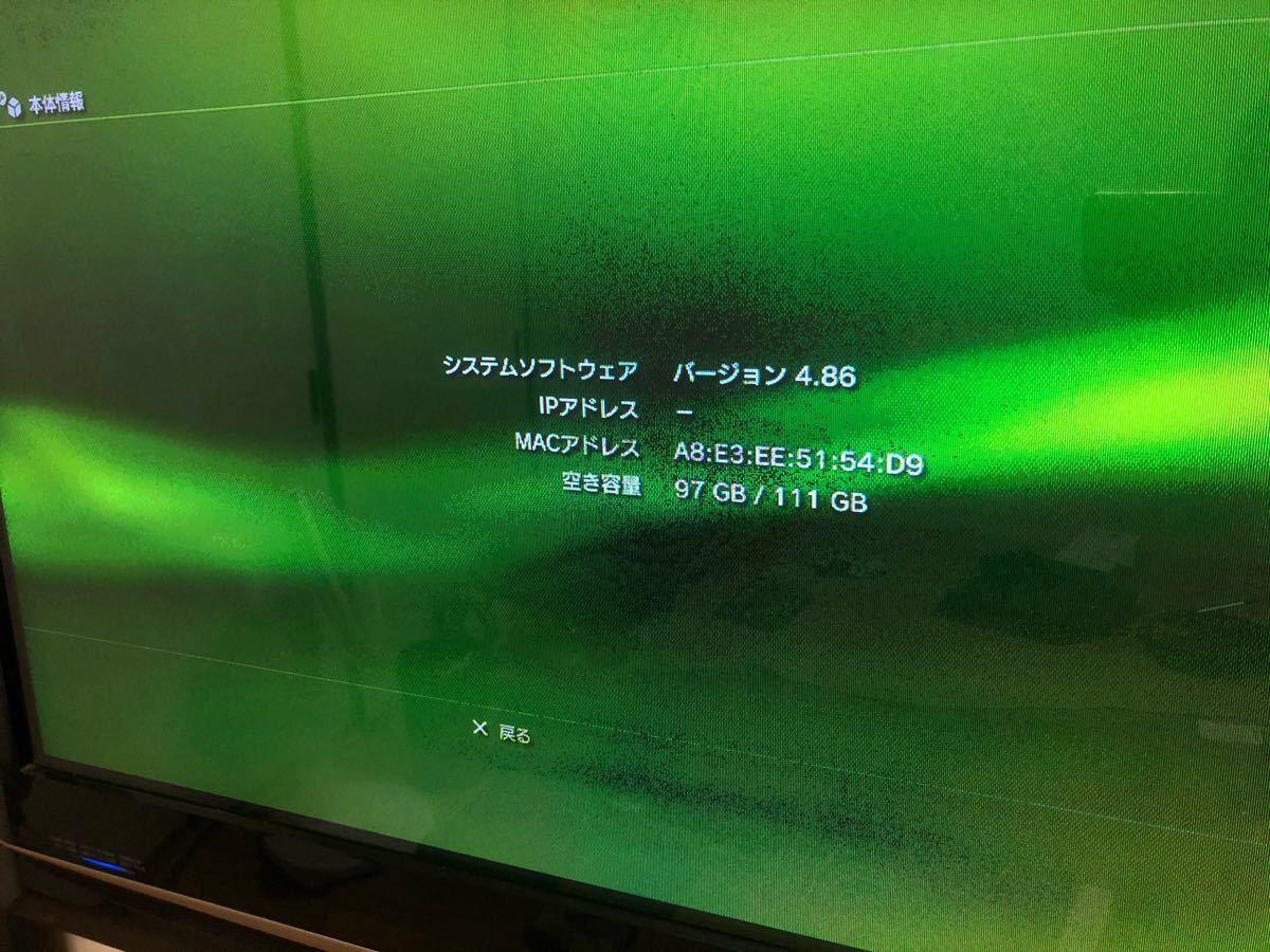 (中古)PlayStation3(120GB)/ワイヤレスギタcontroller/3Games
