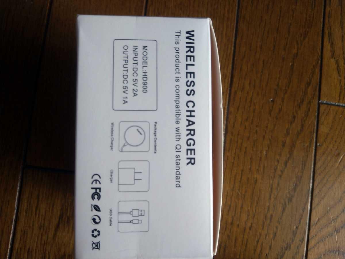 ワイヤレス充電器 iPhone Android ブラック Qi充電器 急速15W_画像5