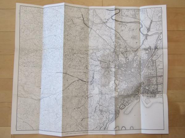 2万分の1地形図 東京近傍中部 明治初期 復刻版 古地図史料出版株式会社発行_画像1