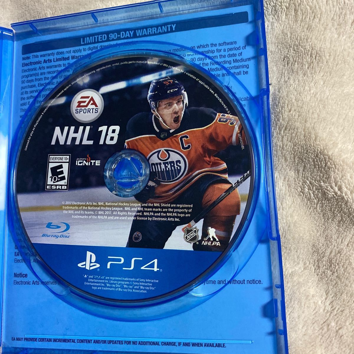PS4ソフト NHL 18