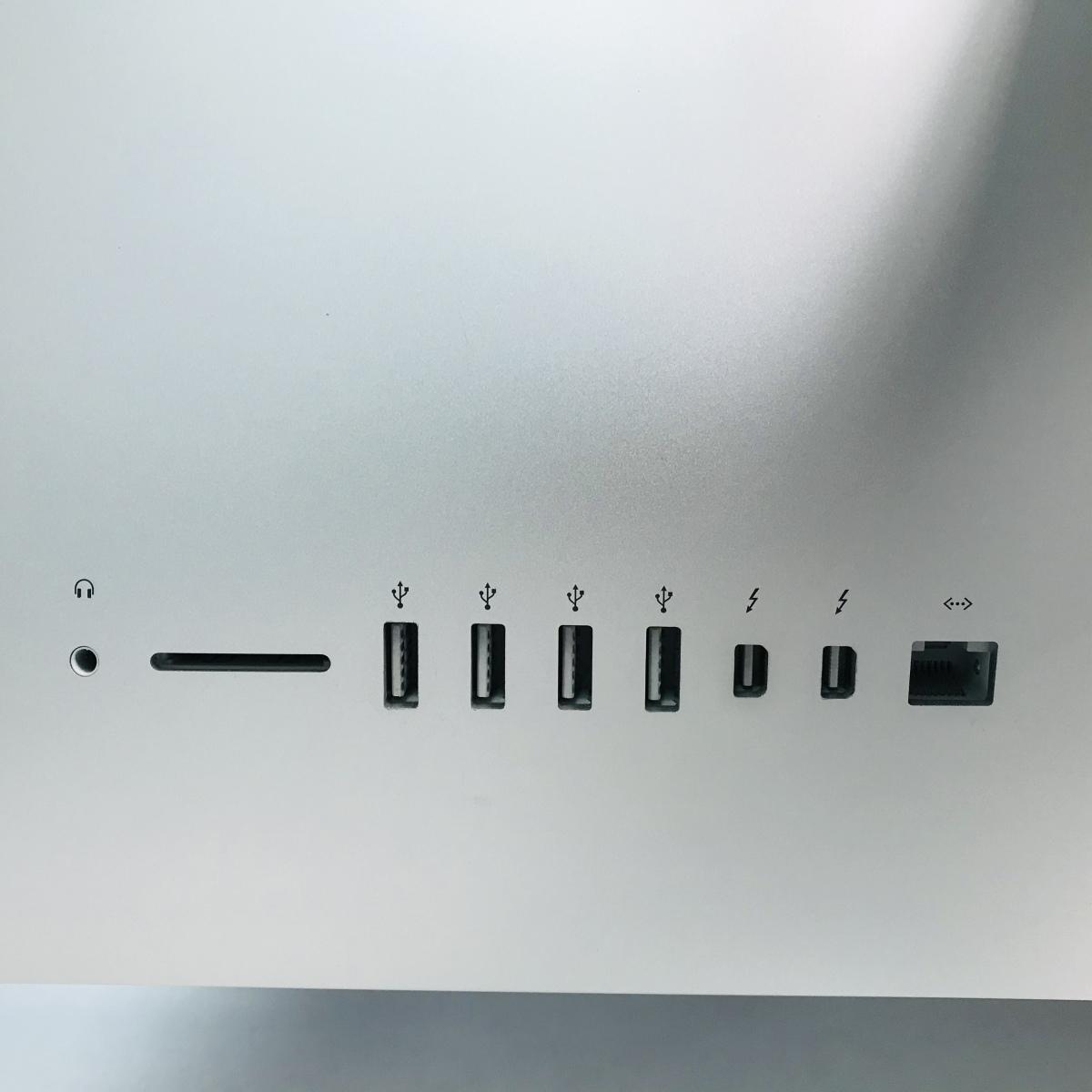 動作確認済み iMac Retina 4Kディスプレイモデル 21.5インチ(Late 2015) Core i5 3.1GHz/16GB/FD 1TB MK452J/A_画像6
