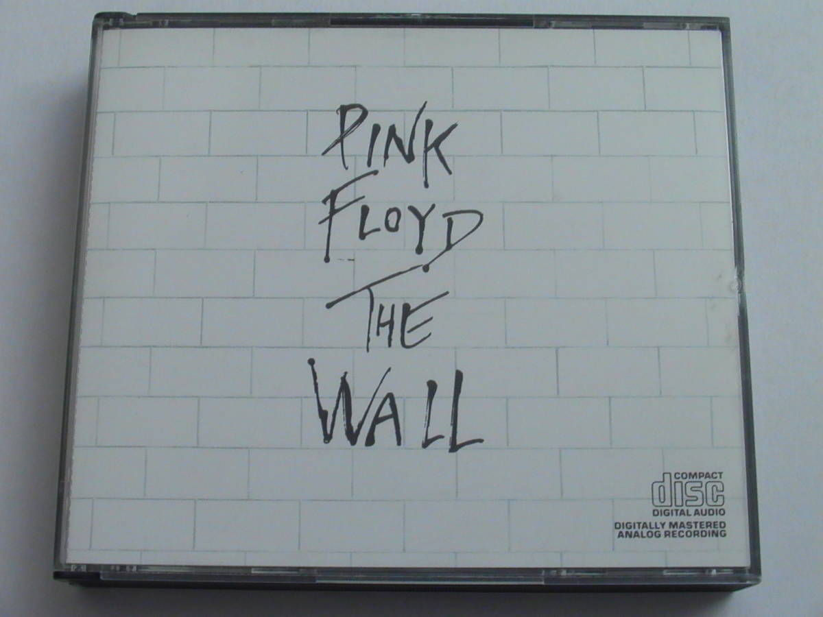 PINK FLOYD / THE WALL 初期輸入盤 ジャケ右下にCOMPACT DISC C2K-36183_画像2
