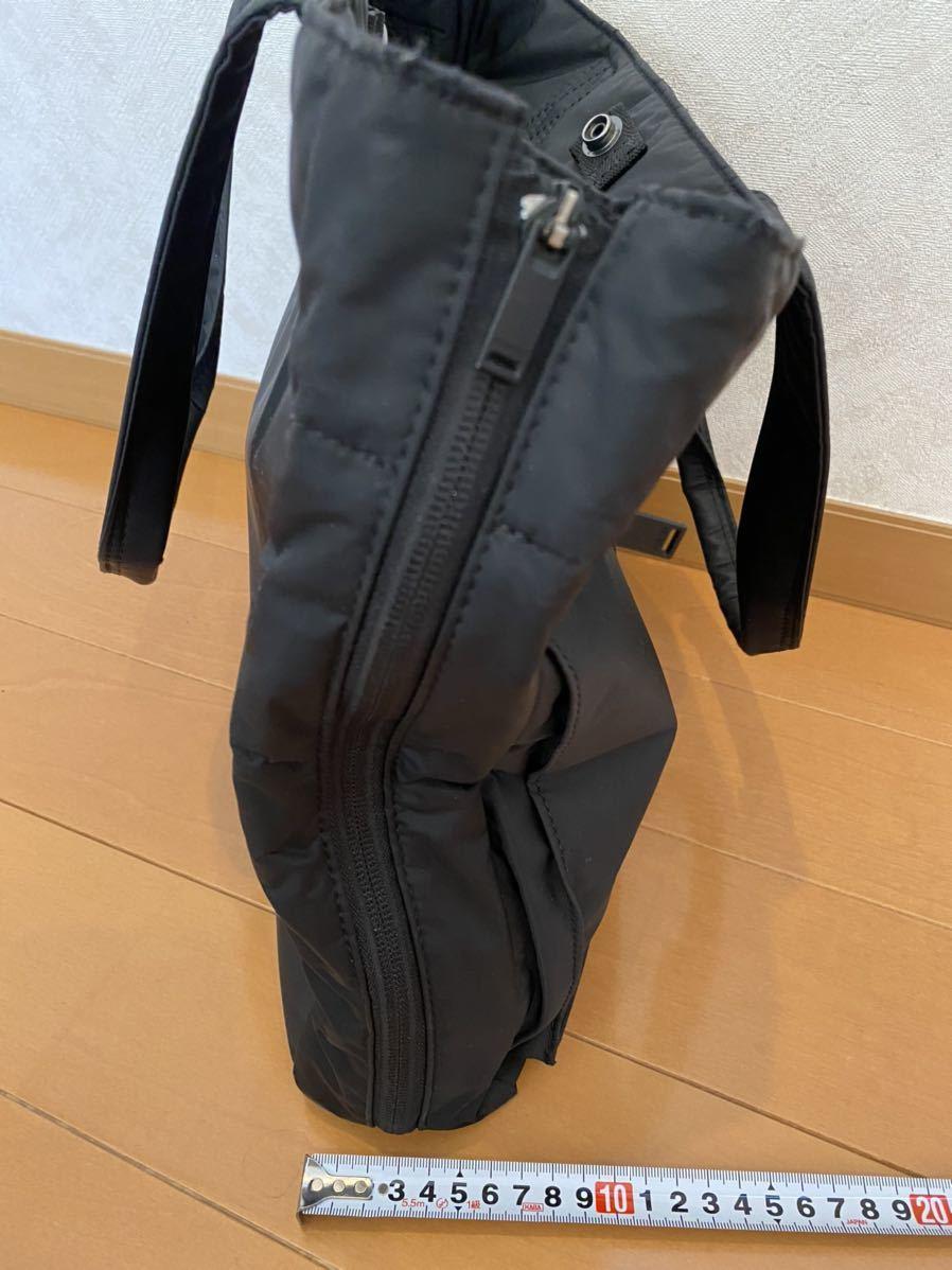 吉田カバン PORTER トートバッグ トライブ 2WAY ショルダーバッグ ブラック 品番383ー16800-10_画像4