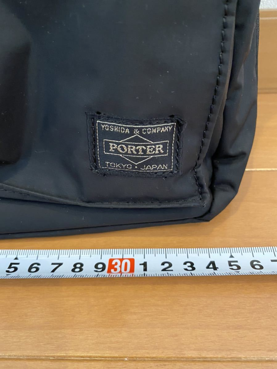 吉田カバン PORTER トートバッグ トライブ 2WAY ショルダーバッグ ブラック 品番383ー16800-10_画像3